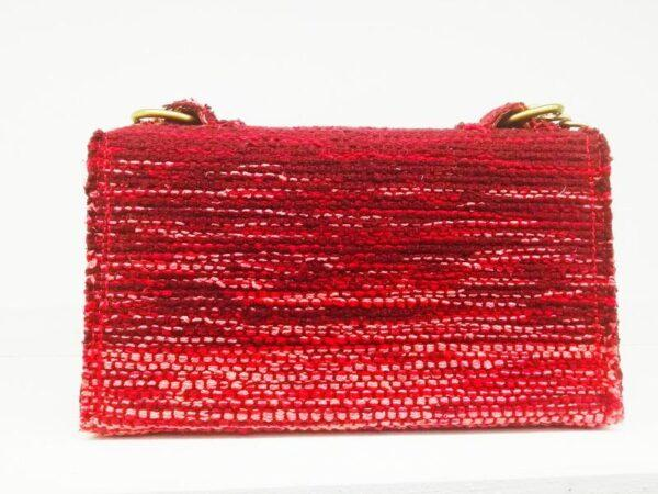knitted handmade bag