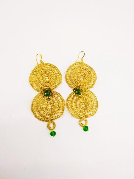 Handmade Silk Earrings