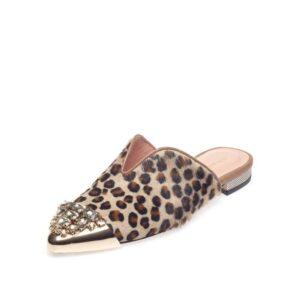 Pony Skin Mule Shoes